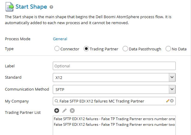 Article: Trading Partner EDI X12 Sending Partner does not