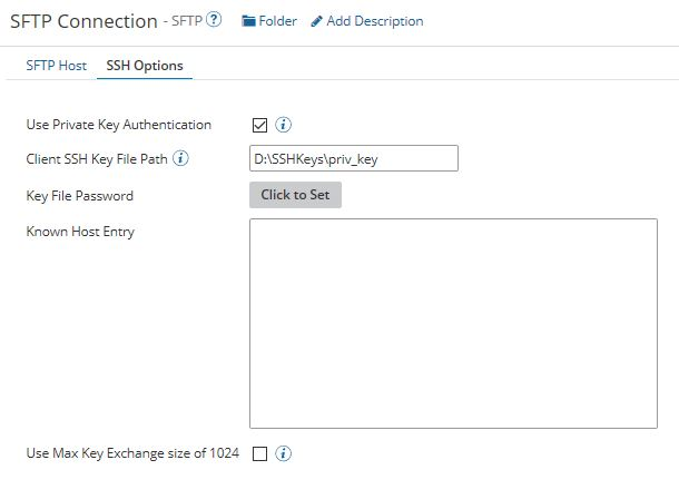 Article: How to generate a public/private key pair for SFTP using