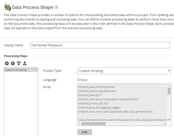 Article: How to call Stored Procedures in AS/400 - Boomi