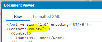 Question: Counting XML elements and Checking for an element