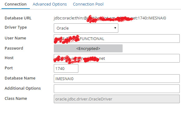 oracle jdbc driver oracle ora-12505 connection refused the specified sid
